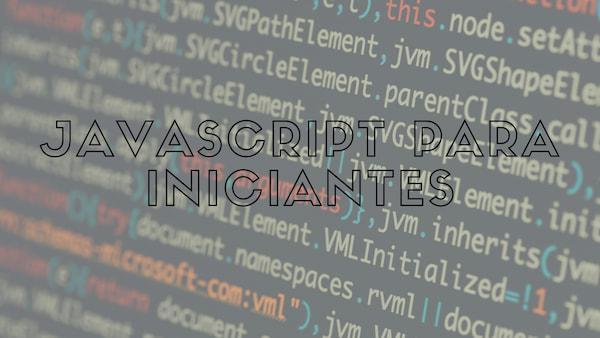 Javascript para Iniciantes