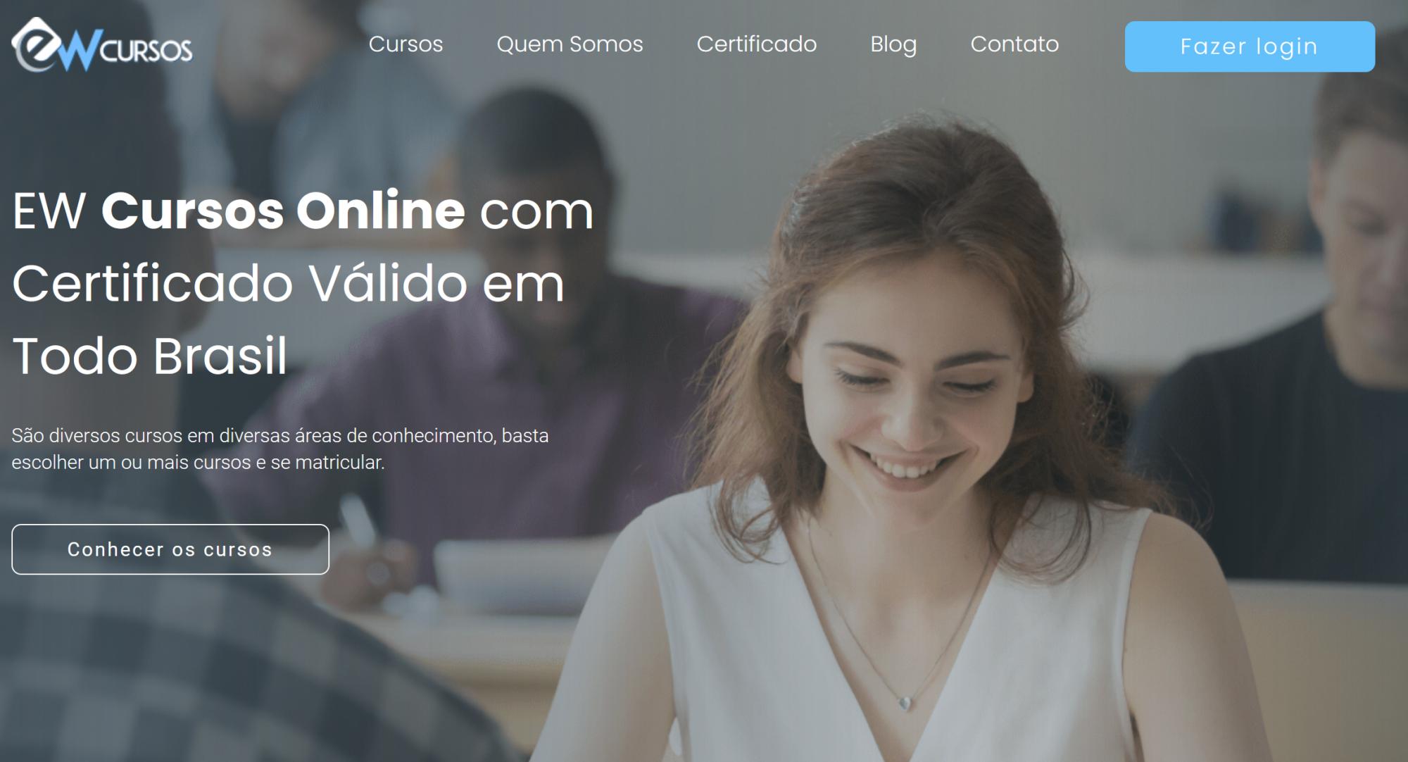 Os melhores cursos online gratuitos da EW Cursos para seu sucesso profissional